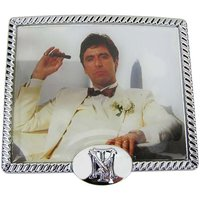 Scarface Chroom Riem Buckle/Gesp