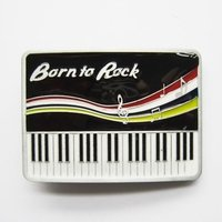 Synthesizer Born to Rock Riem Buckle/Gesp
