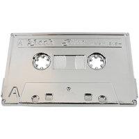 Cassette Tape Chroom Riem Buckle/Gesp
