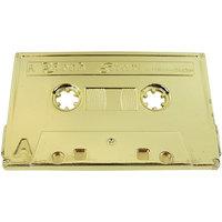 Cassette Tape Goud Riem Buckle/Gesp