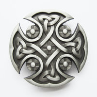 Celtic Schild Design Metal Riem Buckle/Gesp