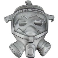 Gasmasker Global Warning Riem Buckle/Gesp