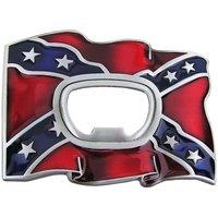 Flesopener Confederate Vlag Riem Buckle/Gesp