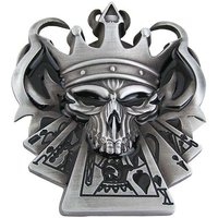 King Skull Poker Riem Buckle/Gesp
