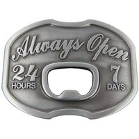 Flesopener Always Open Metal Riem Buckle/Gesp