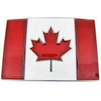 Canadese Vlag Riem Buckle/Gesp