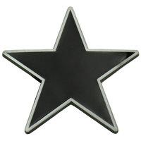 Ster - Zwart - Riem Buckle/Gesp
