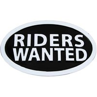 Riders Wanted Chroom Ovale Riem Buckle/Gesp