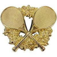 Tennis Rackets Trofee Goud Riem Buckle/Gesp
