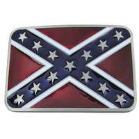 Dukes of Hazzard Confederate Vlag Riem Buckle/Gesp