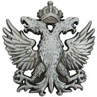 Vuurvogel met 2 adelaars koppen met kroon Metal Riem Buckle/Gesp