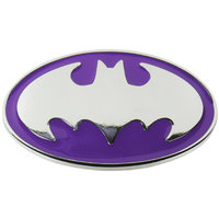 Batman - Logo - DC Comics - Paarse Riem Buckle/Gesp