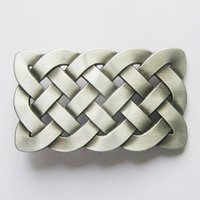 Celtic Knot Metal Riem Buckle/Gesp