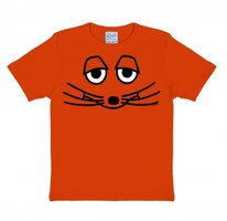 Maus Face Kinder T-shirt oranje