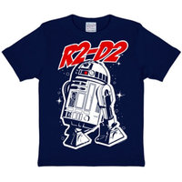 Star Wars R2-D2 Kinder T-shirt navy blauw