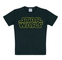 Star Wars - Logo- Zwart Kinder T-shirt