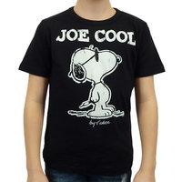 Peanuts Snoopy Joe Cool Kinder T-shirt zwart