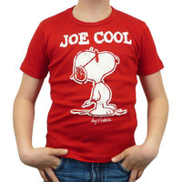 Peanuts - Snoopy Joe Cool - Rood Kinder T-shirt