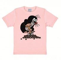 De Kleine Mol Kinder T-shirt roze
