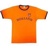 Holland Retro Voetbal Kinder T-shirt oranje