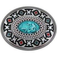 Celtic Keltic Totem Design Ovaal Riem Buckle/Gesp