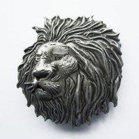 Leeuw Vintage Metal Riem Buckle/Gesp