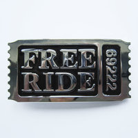Free Ride Fashion Riem Buckle/Gesp