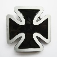 Iron Cross Black Riem Buckle/Gesp