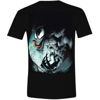 Spiderman Venom Angry Men T-shirt voor Heren zwart