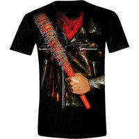 The Walking Dead - Negan - Heren Zwart T-shirt
