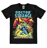 Doctor Strange Master Of The Mystic Arts Heren easy-fit Organic T-shirt zwart