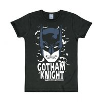 Batman Gotham Knight DC Comics Superheld slim-fit T-shirt zwart