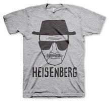 Heisenberg Sketch Heren T-shirt grijs