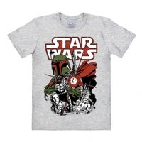 Star Wars Boba Fett Heren easy-fit T-shirt