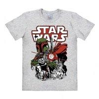 Star Wars Boba Fett Heren easy-fit T-shirt