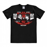 Batman - The Ultimate Face Off - Zwart Heren easy-fit T-shirt