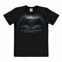 Batman v Superman Dawn Of Justice Heren easy-fit T-shirt zwart