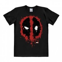 Deadpool Symbool Marvel Heren easy-fit T-shirt