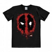 Deadpool Symbool Marvel Heren easy-fit T-shirt