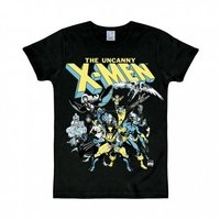 X-Men The Group Marvel Heren slim-fit T-shirt