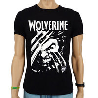 Wolverine X-Men Marvel Heren slim-fit T-shirt zwart