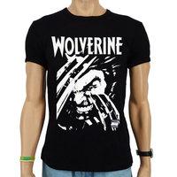 Wolverine X-Men Marvel Heren slim-fit T-shirt zwart