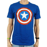 Captain America Shield Marvel Blauw Heren easy-fit T-shirt