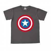 Captain America Shield Marvel Grijs Heren easy-fit T-shirt