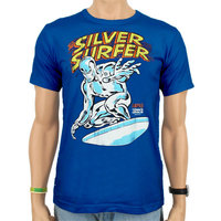 Silver Surfer Marvel Heren easy-fit T-shirt