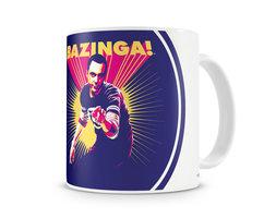 Sheldon Says BAZINGA! Koffie Mok