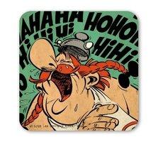 Asterix HaHaHiHiHoHo onderzetter