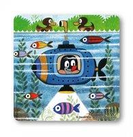 De Kleine Mol In Een Duikboot Onderzetter