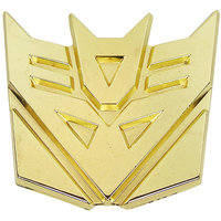 Transformers Decepticons Goudkleur Riem Buckle/Gesp