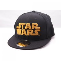 Star Wars - Golden Logo - Zwarte Pet